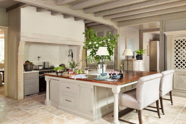 Another Beautiful Kitchen By Circa Interiors, Featuring Built In Lamps On  The Island.