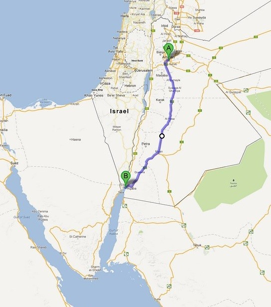 Amman to Aqaba