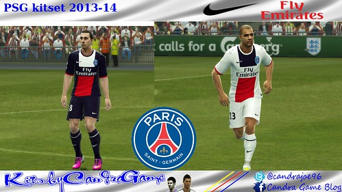 PSG 2013-14 kitset by CandraGame