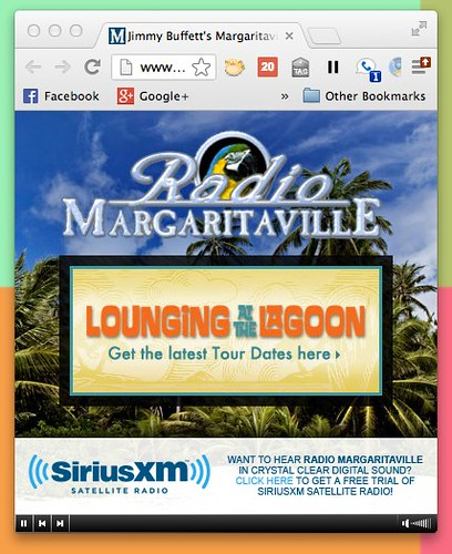 Jimmy Buffett's Margaritaville :: Radio Margaritaville Streaming Player - Flash Player