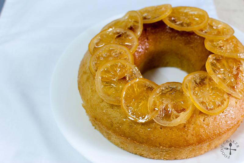 Lemon Glazed Buttermilk Cake