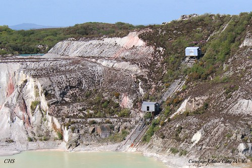 Carclaze China Clay Works by Stocker Images