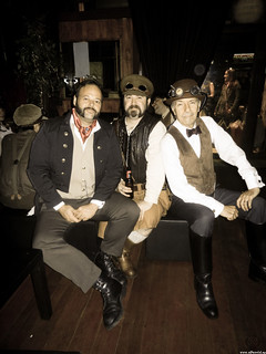 Three SteamPunk Gentlemen