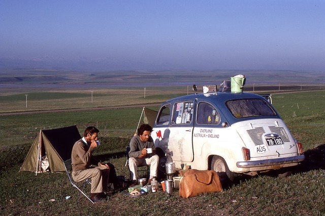 Camp Site, NE Turkey, 1969