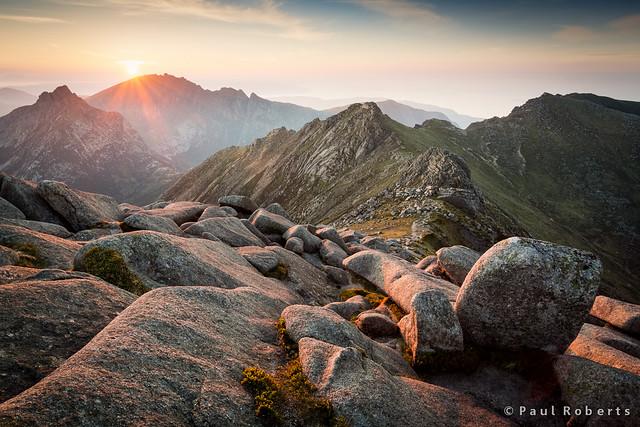 Sunset on Goat Fell, Arran [IMG_3019]