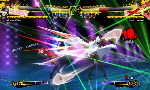 Persona 4 : Arena - Screenshot 1