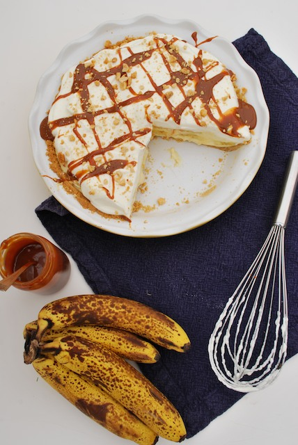 Recipe: Banana Cream Pie with Fat Toad Farm Salted Bourbon Caramel ...