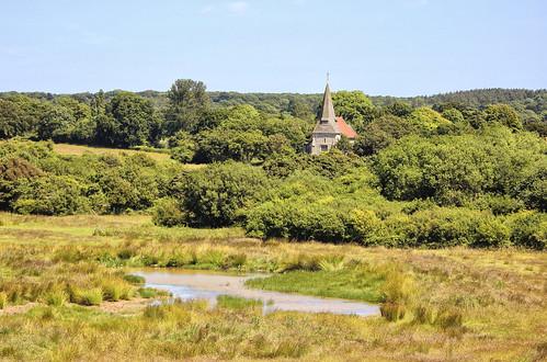 summer church arlington countryside fields stpancras eastsussex arlingtonreservoir placeofworship larigan phamilton