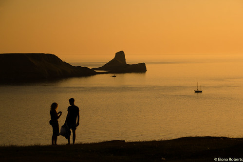 wales unitedkingdom sunsets nationaltrust wfc rhossili nationaltrustwales nationaltrustrhossili