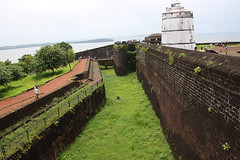 Lighthouse atop Fort Aguada