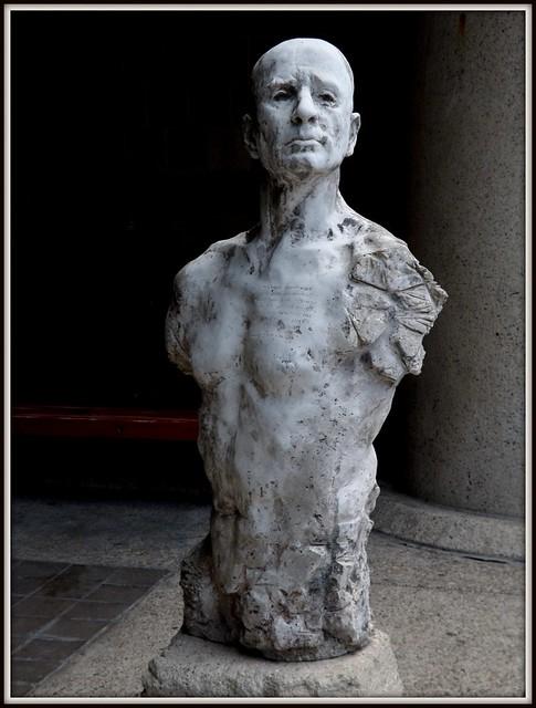 Sculpture, Head and Torso: College for Creative Studies--Detroit MI