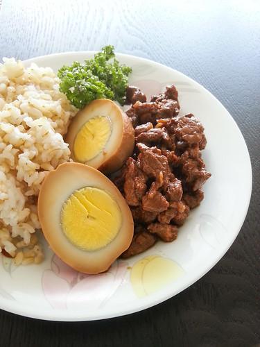 Lu Rou Fan 滷肉飯