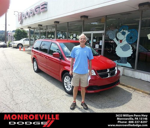Thank you to Carl Feetman on the 2013 Dodge Grand Caravan from Scott Butler and everyone at Monroeville Dodge! by Monroeville Dodge