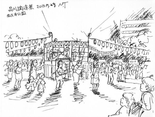 品川納涼祭-2