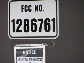 New Auburn tower FCC number