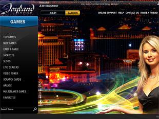 Joyland Casino Lobby
