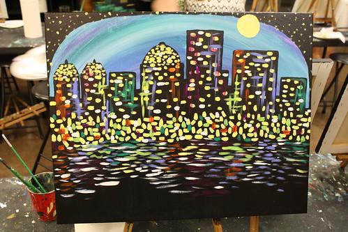 Pinot's-Palette-Louisville-Skyline-Painting