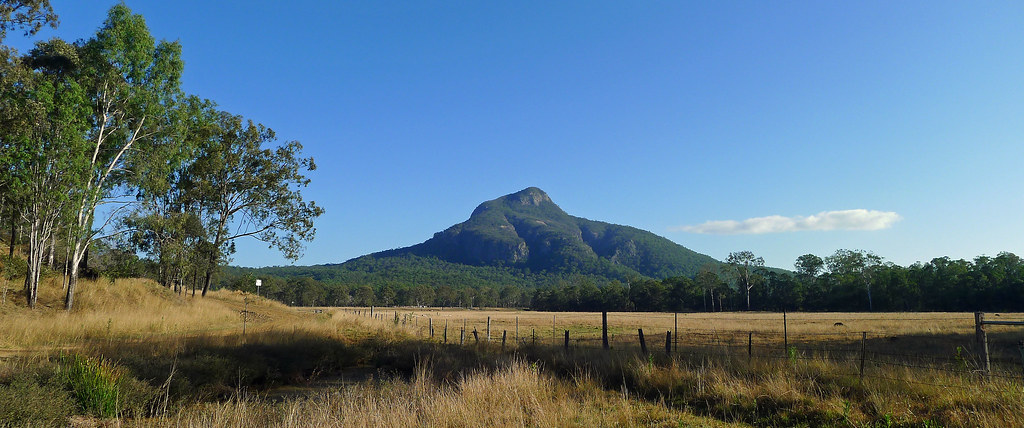 Mt Greville from Munchow Crossing Campsite