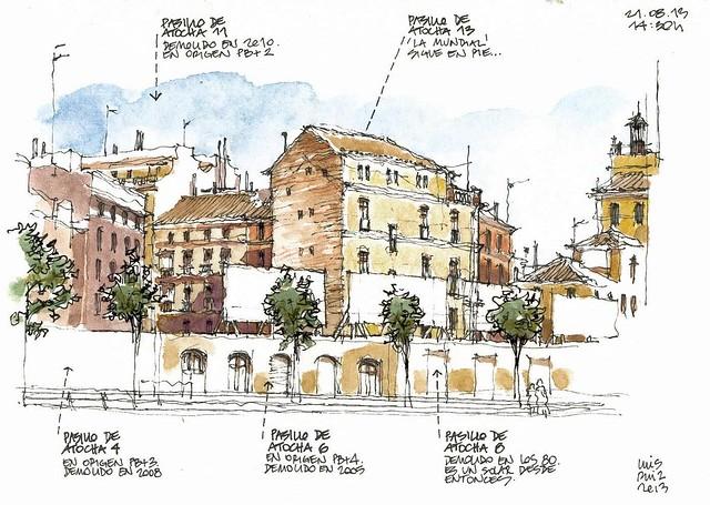 Málaga, Pasillo de Atocha