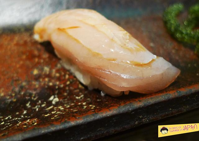 Sushi Sho - Tokyo - Baby Spanish mackerel