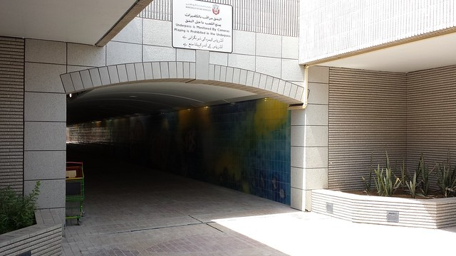 Underpass to water side