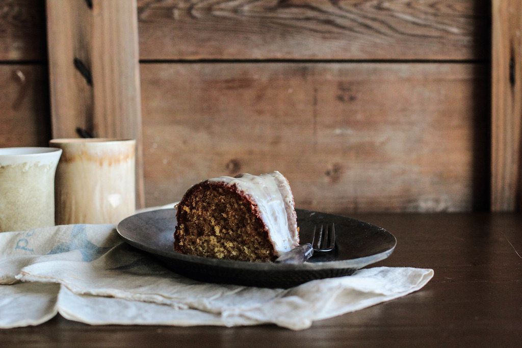 Vanilla Bean Malt Cake