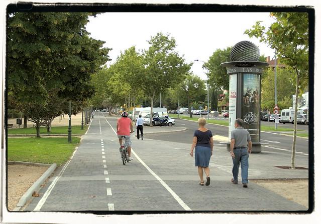 Carril Bici de Las Rozas