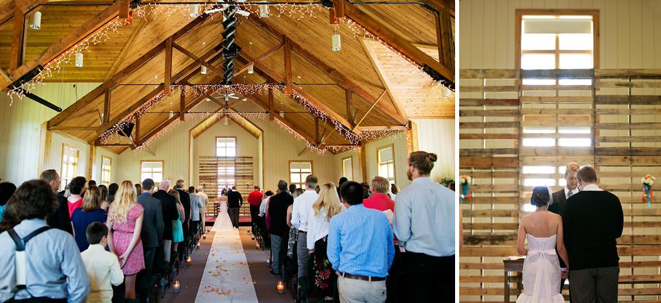 Portage Lake Covenant Bible Camp Wedding