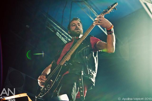 Jeremy Davis - Paramore - Paris, Le Zénith - 07/09/2013