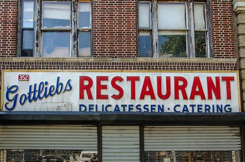 Gottlieb's Restaurant Williamsburg Brooklyn