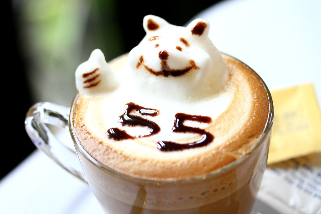 George Town Cafes: Cafe 55's Very Cute Coffee.