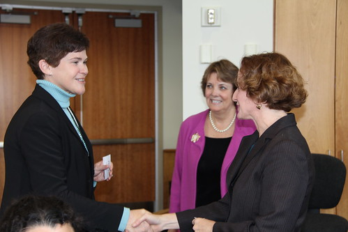 Deputy Secretary Krysta Harden meets with USDA employees in Minnesota.