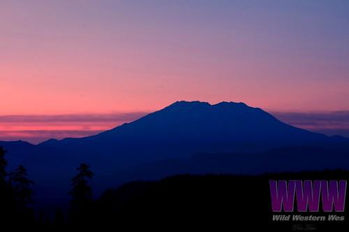 sunset carson washington lewisriver mountsainthelens giffordpinchotnationalforest mcclellanviewpoint