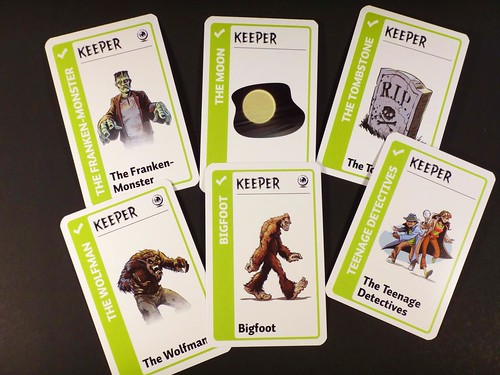 Monster Fluxx Keepers