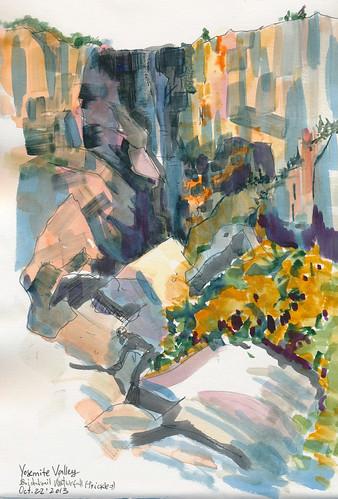 Oct 2013: Yosemite Trip - Bridalveil WaterFall
