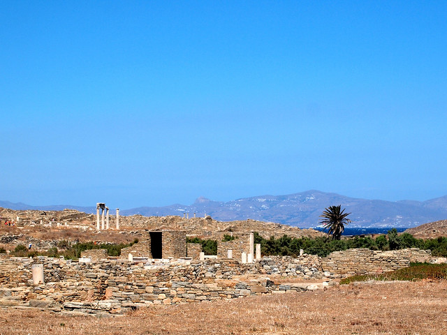 Apollo's birthplace on Delos