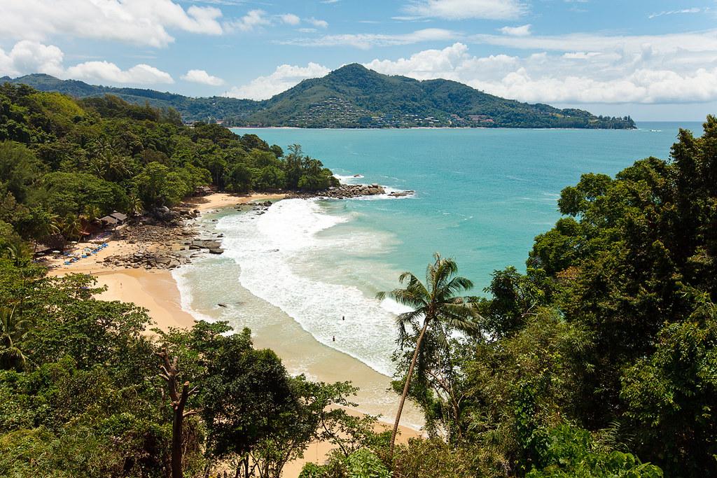 Thailand, Phuket, Laem Sing Beach