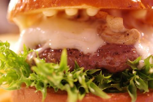Mushroom Cheese Burger @TIN'z BURGER MARKET 09 PENTAX K-3