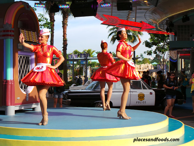uss dancing girls