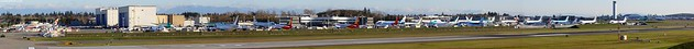 Boeing Everett Flightline