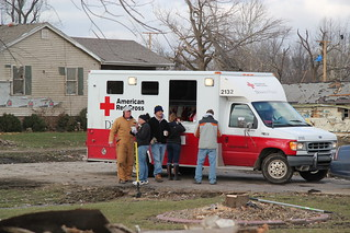 Gifford Illinois Red Cross Tornado Relief