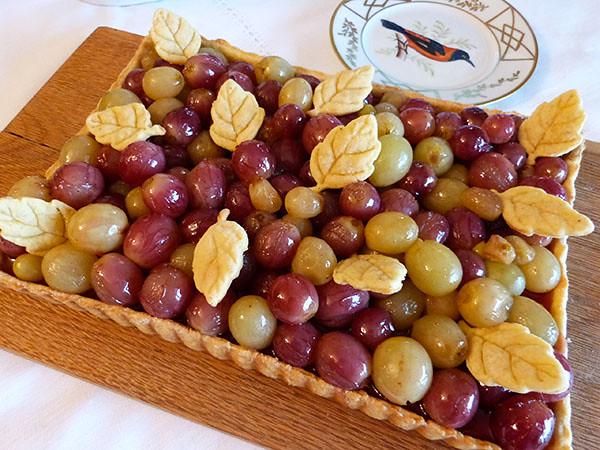 tarte au raisin 2