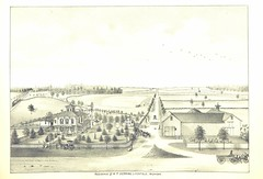 """British Library digitised image from page 219 of """"History of Hillsdale County, Michigan, with illustrations and biographical sketches of some of its prominent men, etc"""""""