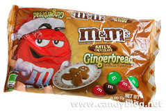 M&Ms Milk Chocolate Gingerbread