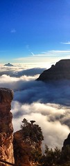 Grand Canyon Inversion 2013 - Mather Point Vertical