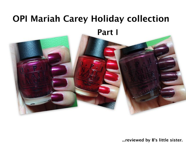 Mariah Carey Holiday Nail Polish Collection, Part I
