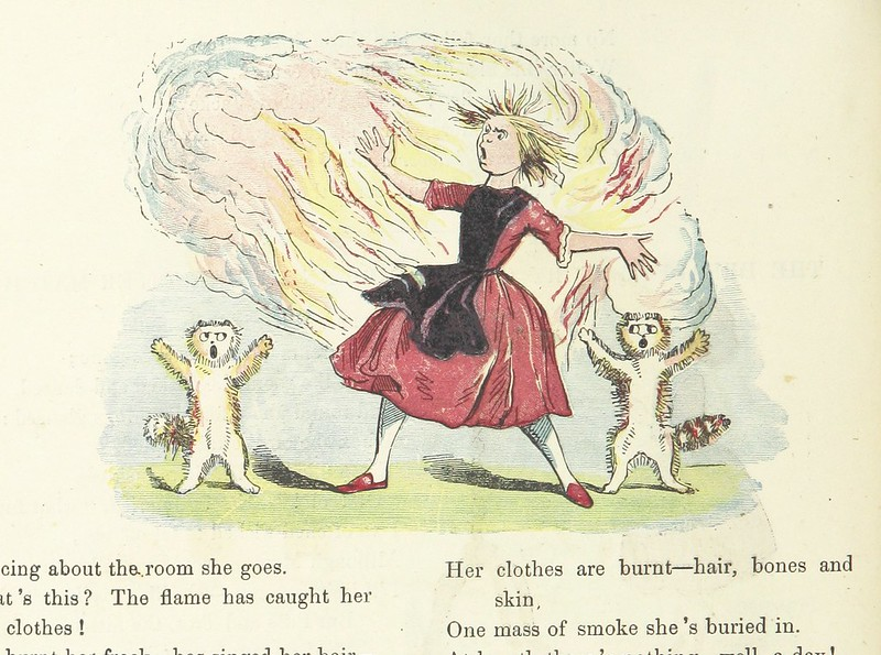 Image taken from page 16 of 'Funny Books for Boys and Girls. Struwelpeter. Good-for-nothing Boys and Girls. Troublesome Children. King Nutcracker and Poor Reinhold'