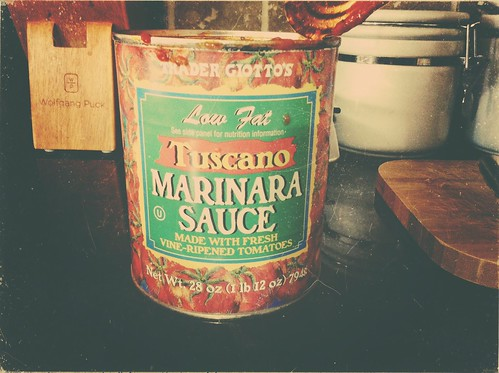 Making Lunch and using my favorite sauce