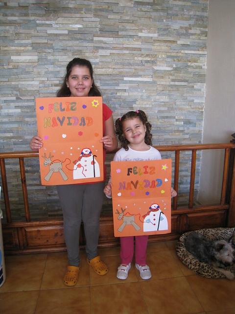 Tarde de Manualidades - Eva y Naiara