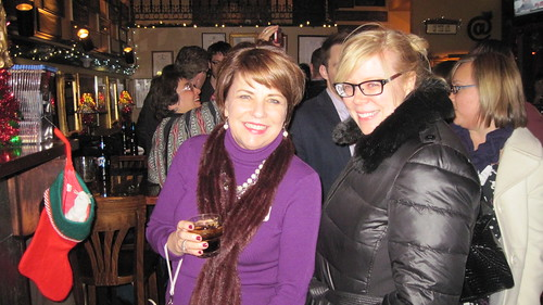 Kathy Mykleby & Anne Schwartz at Meet the Media on Dec. 5th.